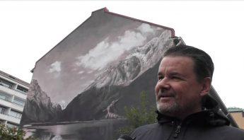 """GALLUP: """"Muraali piristää kaupungin ilmettä"""""""